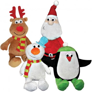 Good Boy Christmas Chums Dog Toys