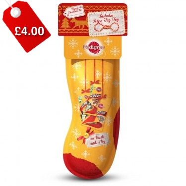 Pedigree Christmas Filled Stocking 1