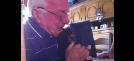 Grandpa Receives A Puppy Friend