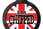 i'm chipped dog tag uk