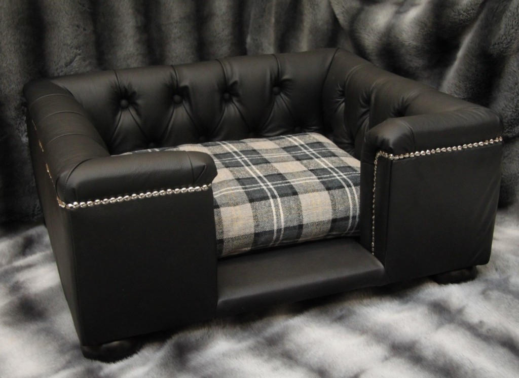 Designer Leather Dog Beds