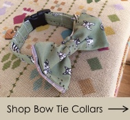 Bow Tie Dog Collars at Chelsea Dogs