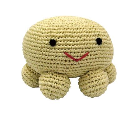 Luxury Dog Toy Crochet Octa The Octapus Pet London