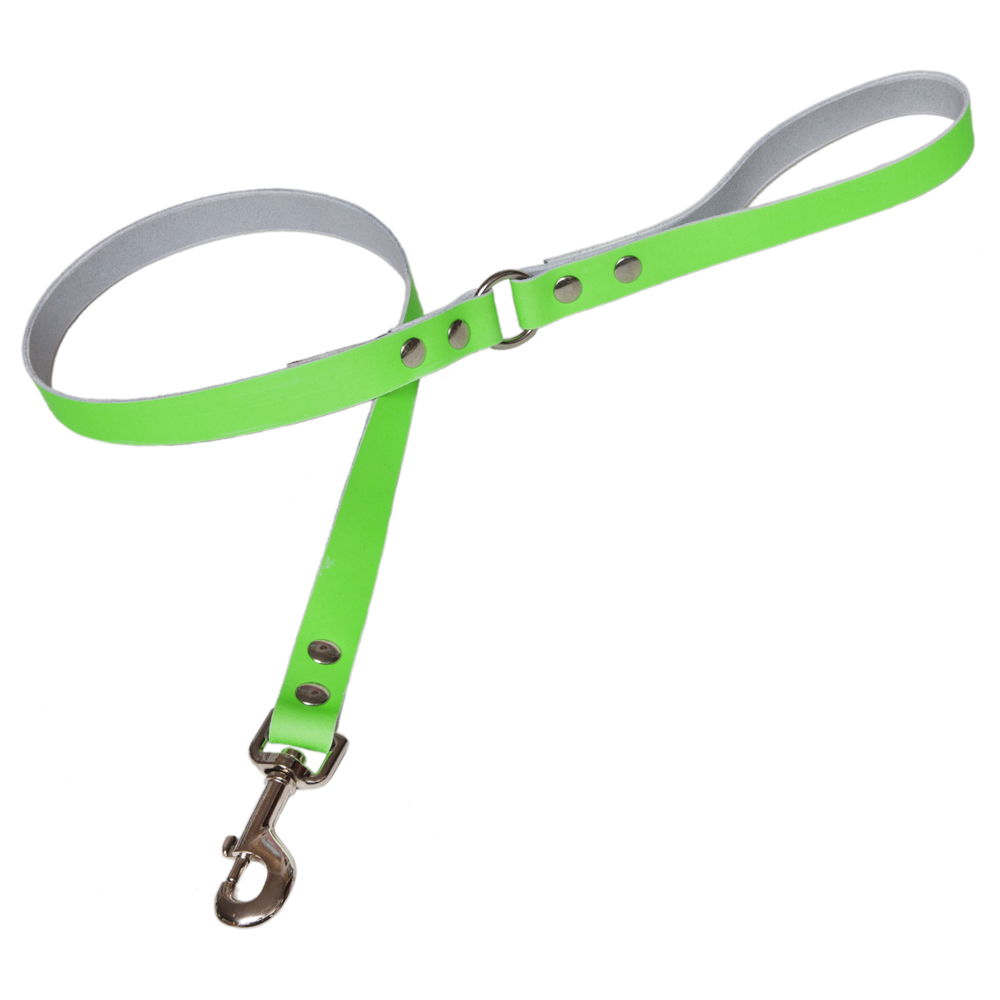 Neon Leather Designer Dog Leads Creature Clothes UK