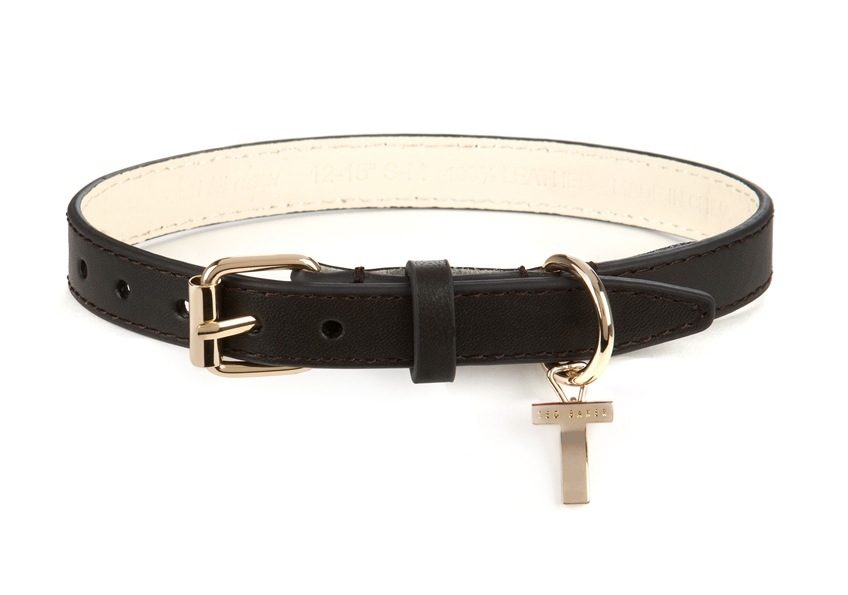 patent-dog-collar-ted-baker-black 2