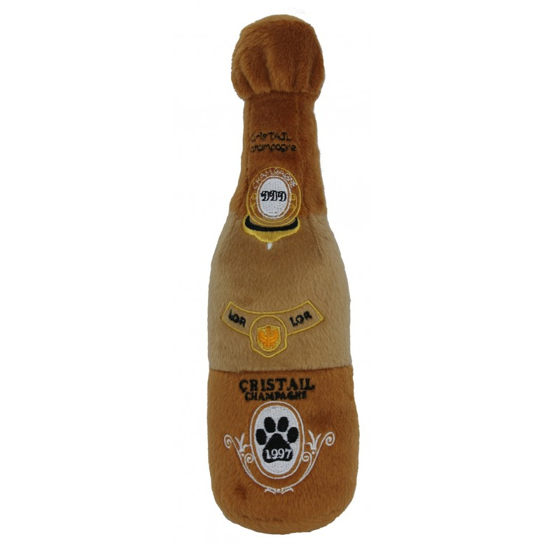 cristail champagne dog toy