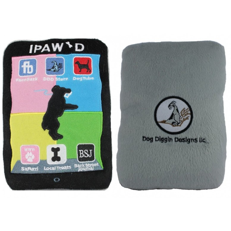ipawd ipad for dogs soft dog toy
