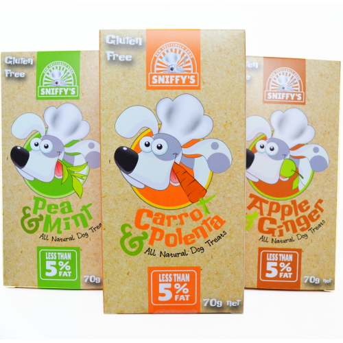 Sniffy's All Natural Dog Treats Gluten Free