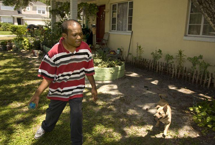 christian and raelee down syndrome dog saves boys life