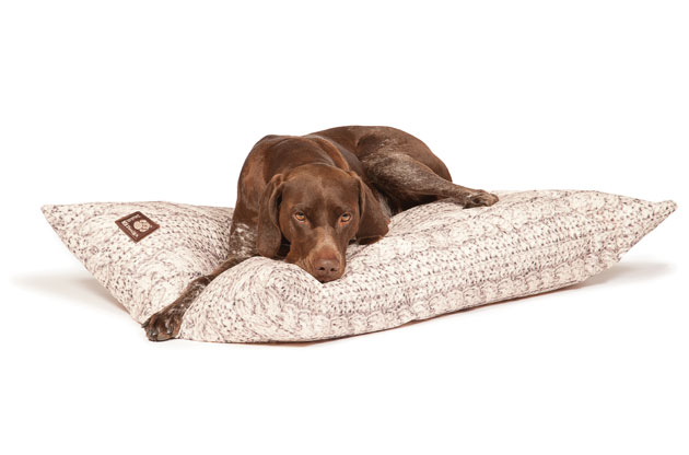 Danish Design Bobble Range Warm Oatmeal Deep Duvet Dog Bed Labrador