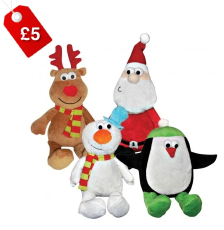 Good Boy Christmas Chums Dog Toys 1