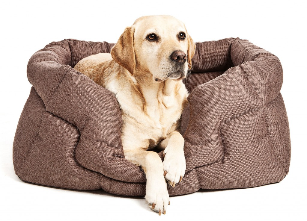 Superior Basket Weave Drop Front Rectangle Dog Beds by Pets And Leisure