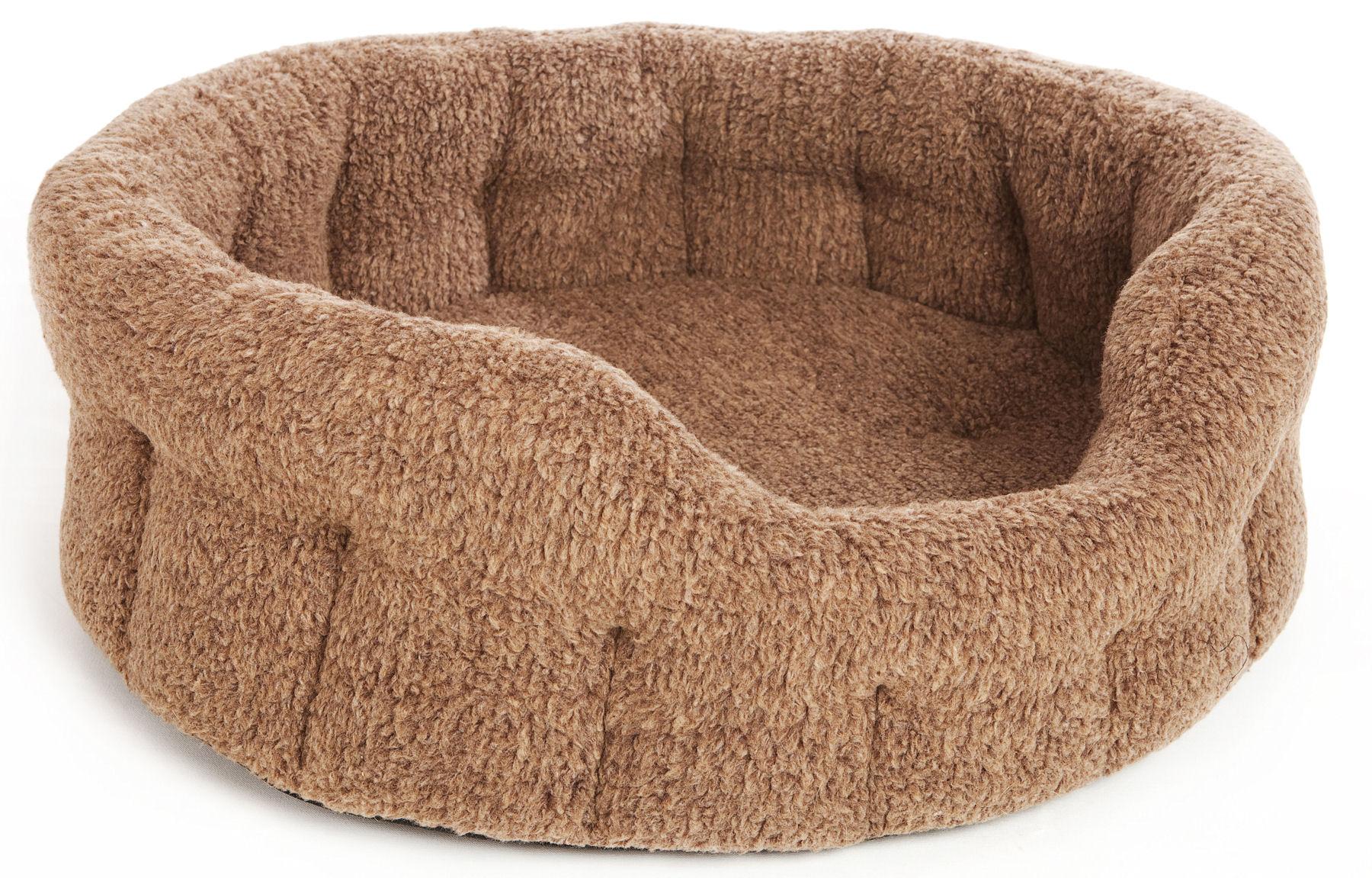 Brown Fleece Best Puppy Bed