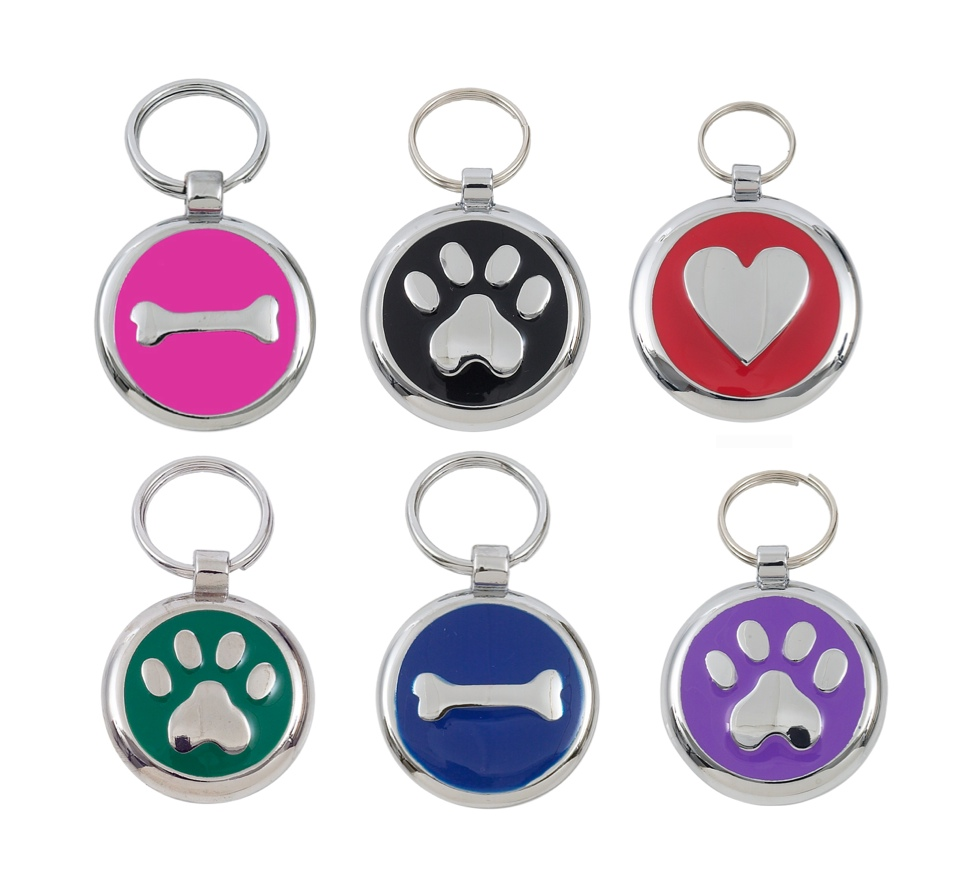 Designer Dog Tags at Chelsea Dogs
