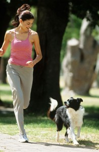 dog running 1
