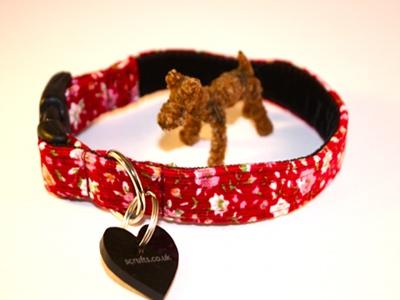 Betty Designer Puppy Collar