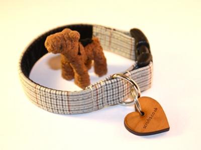 Waldrof designer puppy collars