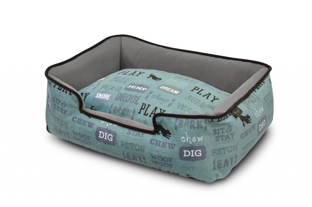 PLAY Lounger Dog Bed Powder Blue