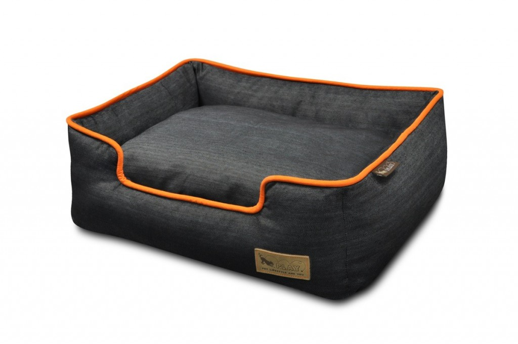 PLAY Lounger Dog Bed Urban Denim