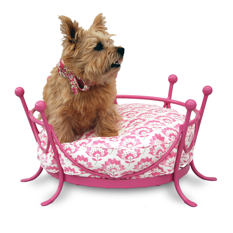 The Crown Metal Dog Bed
