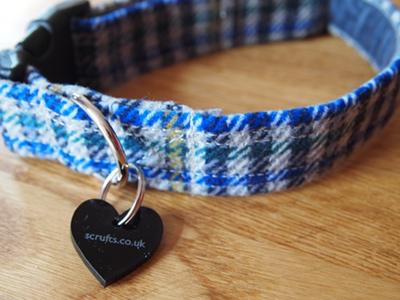 Frankie Tweed Designer Dog Collar