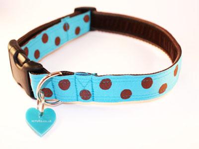 bloo designer dog collar