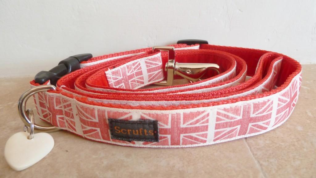 By Jingo Union Jack Designer Dog Collars