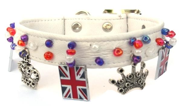 union jack charms and crowns