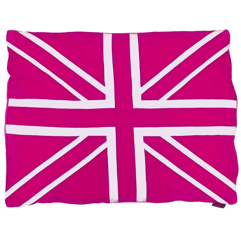 Best pink dog beds for Pink union jack bedding