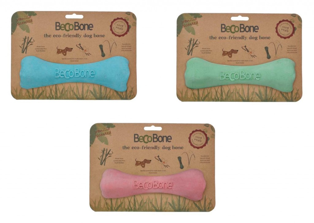 BecoBone Eco Dog Toy by BecoThings