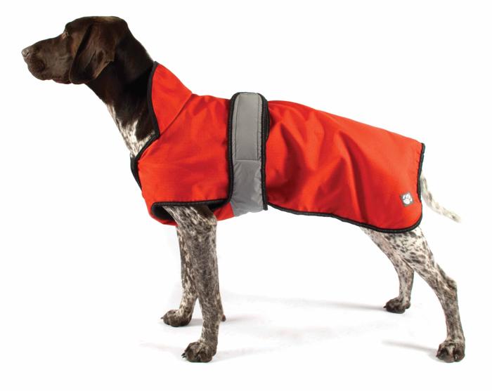 The Ultimate 2 in 1 Waterproof Dog Coat Orange