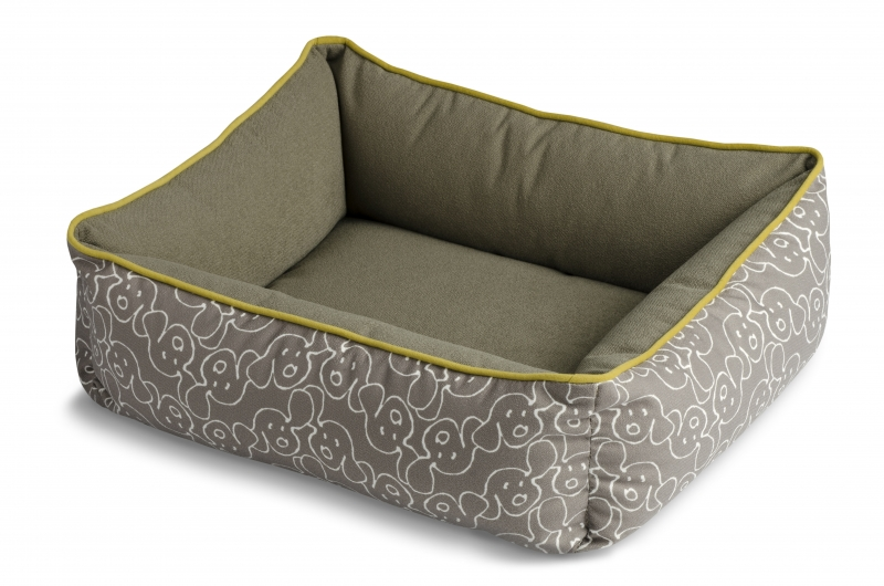 Crypton Dog Eared Bumper Dog Bed
