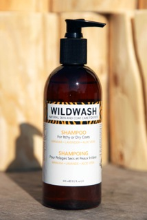 WildWash Natural Pet Shampoo For Itchy Or Dry Coats