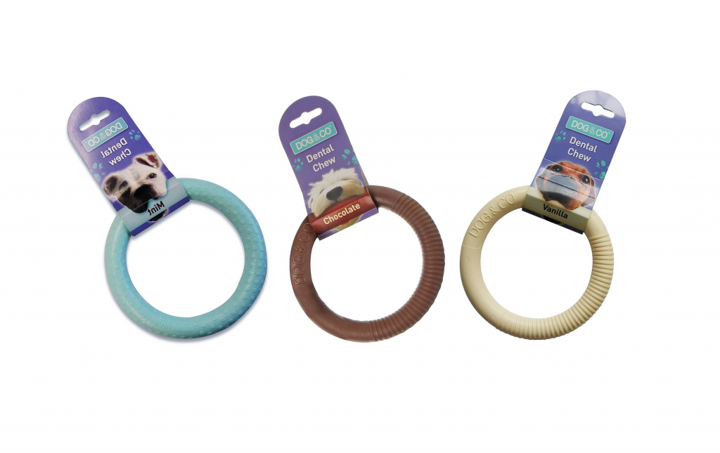 Nylon Dental Chew Ring Dog Toy by Dog & Co