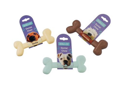 Nylon Dental Chew Bone Dog Toy by Dog & Co