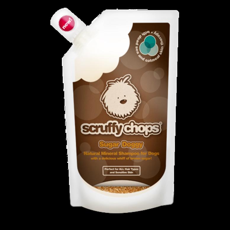 ScruffyChops Sugar Doggy Luxury Organic Dog Shampoo 250ml