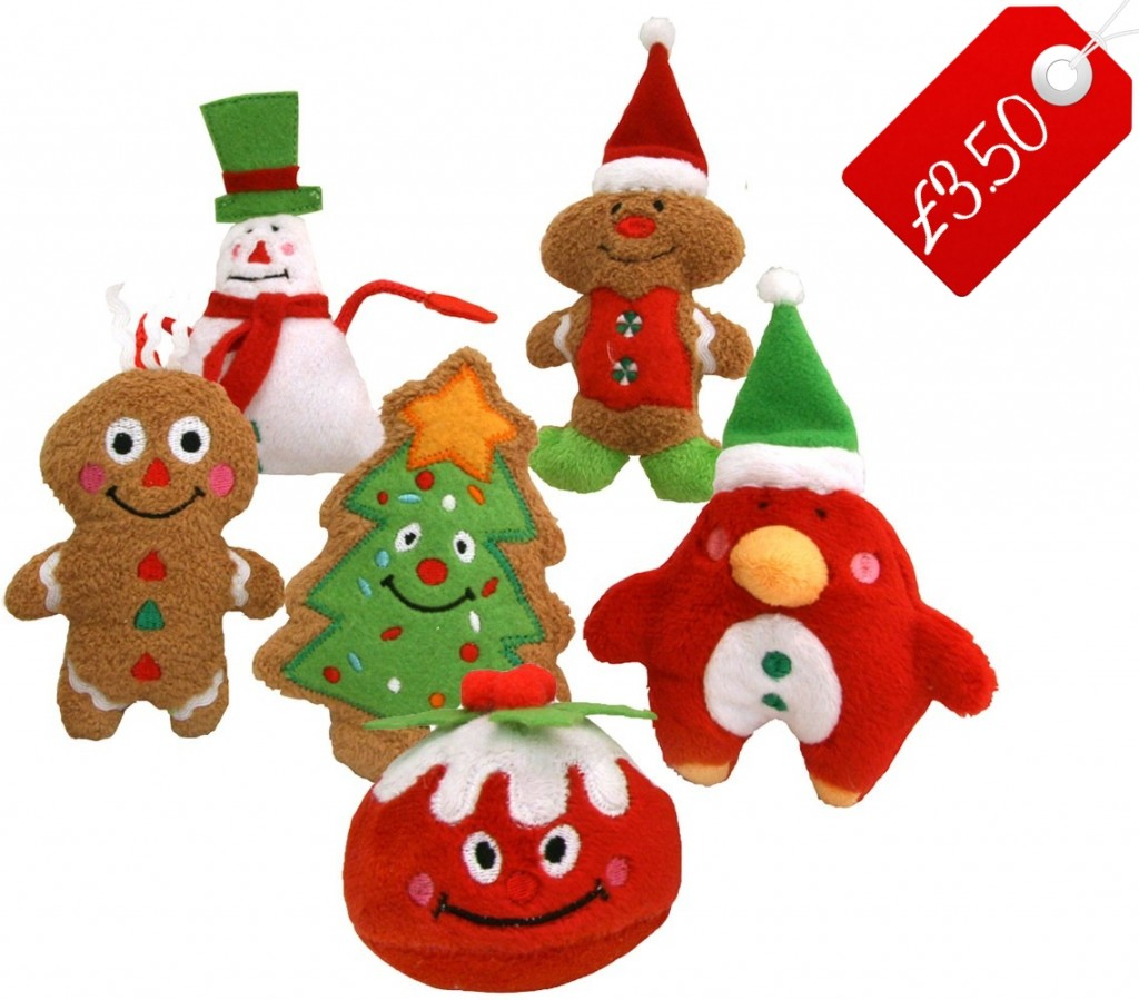 Toys For Christmas : Christmas dog toys perfect pet stocking fillers
