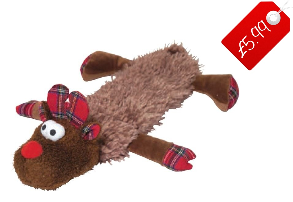 mavis christmas dog toy