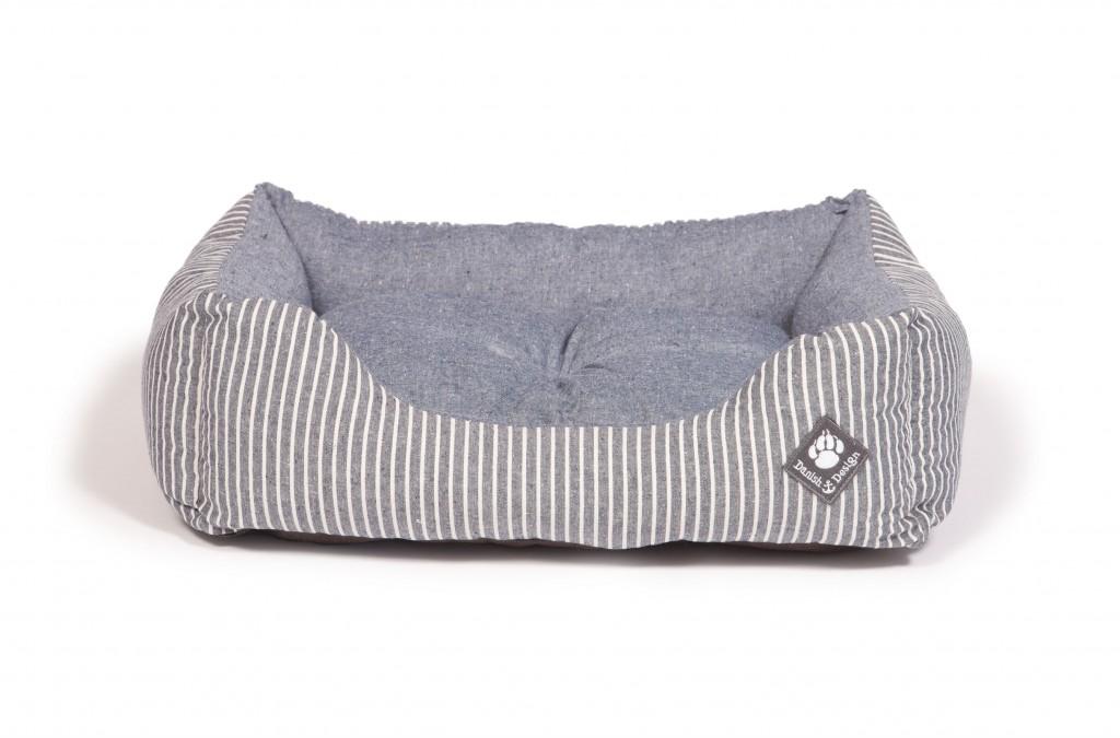 Maritime Blue Snuggle Bed Reversible Matt