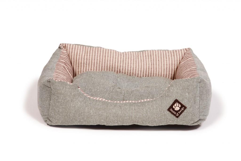 Maritime Green Snuggle Bed Reversible Matt