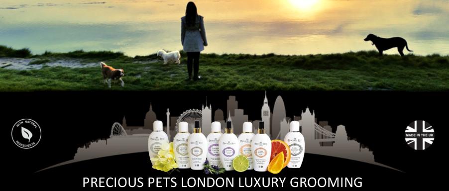 Precious Pets Luxury Dog Shampoos and Perfumes