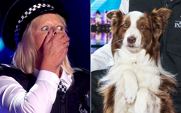 Jules Dwyer and Matisse are announced as the winners of Britain's Got Talent 2015 Photo: ITV/Syco/Thames/Corbis