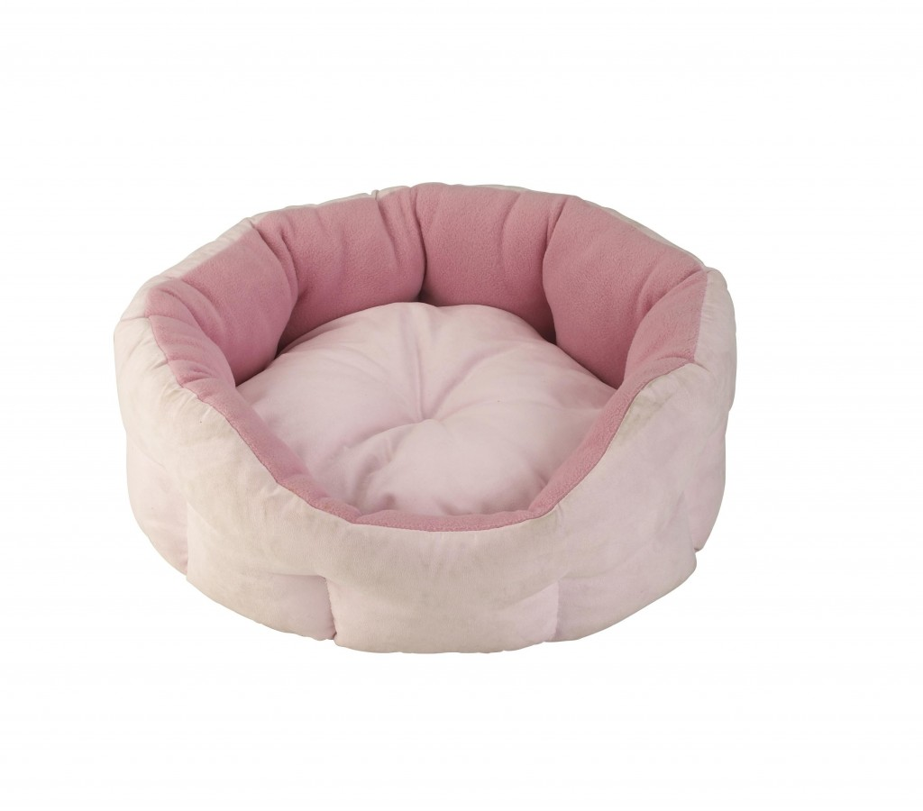Snug and Cosy Verona Oval Pink Snuggle Bed
