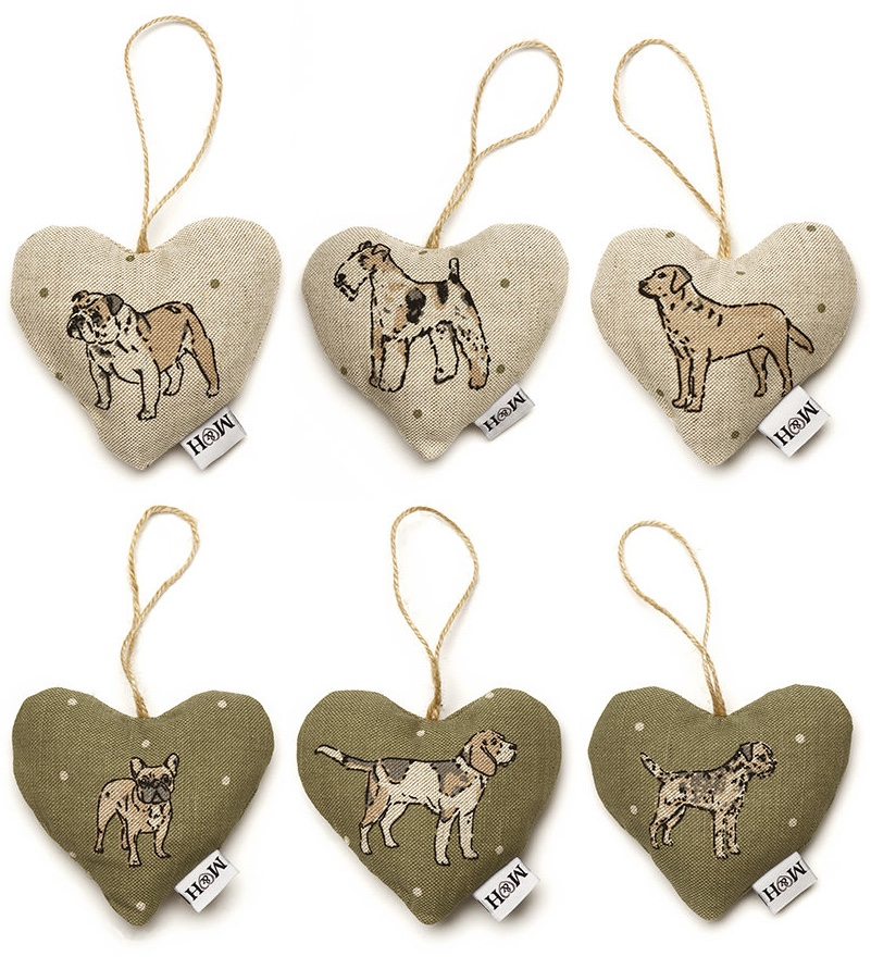 Lavender Hearts Gifts For Dog Lovers