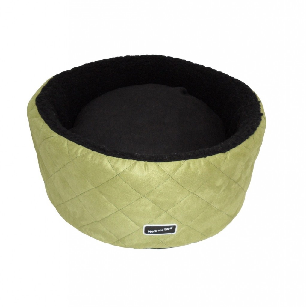 Chill Out Round Small High Sided Dog Beds Apple Green £29.99