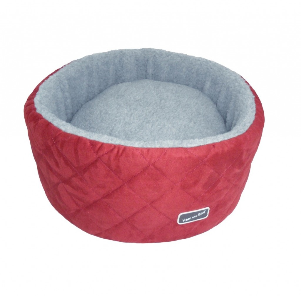 Chill Out Round Small High Sided Dog Beds Brick Red £29.99