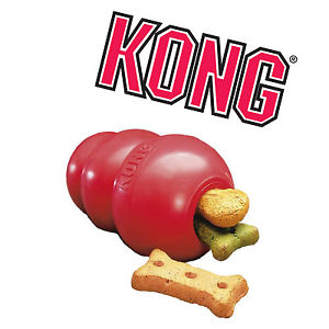 Classic Kong Red Rubber Dog Toy, £5.99