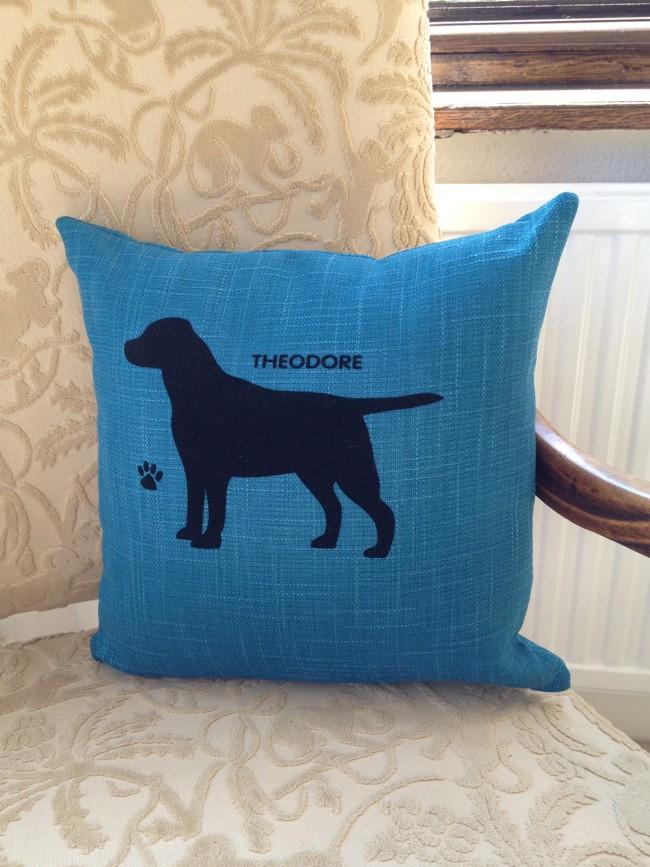 Luxury Personalised Dog Cushion