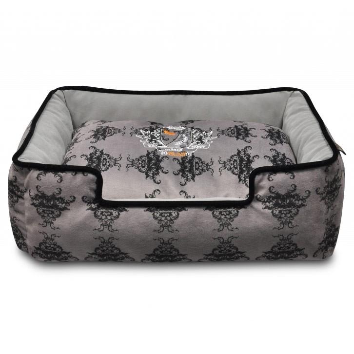 P.L.A.Y Lounger Dog Bed Royal Crest
