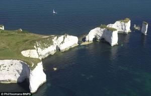 The cliffs where Tarka fell
